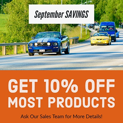 Get 10% OFF Most Gearhead Engines Products