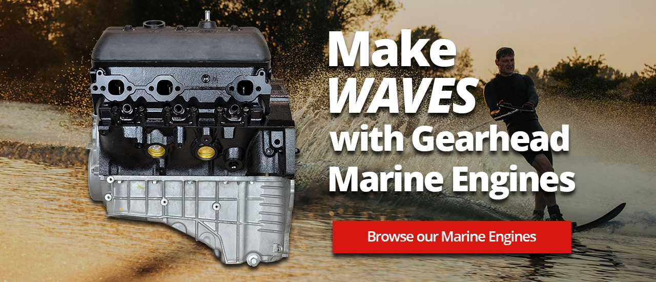 Catch a wave with Gearhead marine engines